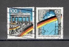 GERMANIA 1313/14 - FEDERALE 1990 MURO BERLINO - MAZZETTA  DI 15 - VEDI FOTO