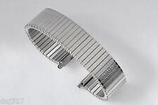 17mm - 22mm Stainless Steel Fixo Flex Stile in Espansione Braccialetto Orologio. b9001