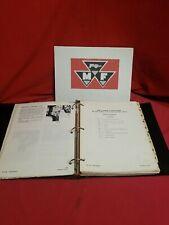 Vintage Massey Ferguson 205 220 Compact Tractor Service Manual