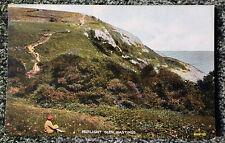 Vintage hand coloured postcard: Sussex, Hastings, Fairlight Glen.