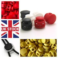 Metal spring plastic end stopper 4mm 6mm cord locks end toggles for face mask