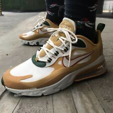 Nike Air Max 270 REACT GOLD CLUB Mens Running Sneakers AO4971 700 ALL SIZE $150
