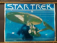 STAR TREK THE MOTION PICTURE U.S.S. ENTERPRISE MYLAR POSTER (1979)