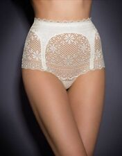 Agent Provocateur STONE French Lace Big Brief in Cream Size: 3 M Ret:$215 NWT