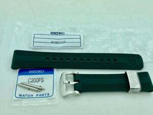 SEIKO SPB207 PROSPEX MM200 - GREEN RESIN STRAP R03E014J0 GENUINE NEW