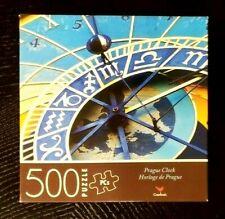 """PRAGUE CLOCK JIGSAW PUZZLE 500-PIECE HORLOGE DE PRAGUE 14"""" x 11"""" SAME-DAY SHIP"""