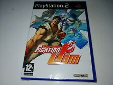PS2: CAPCOM FIGHTING JAM (Mint Factory Sealed Condition) PAL