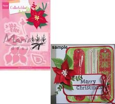 Marianne Design Collectables Eline's Poinsettia Craft Die Set COL1393 Christmas