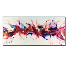 Abstract Pour Painting Large Modern Giclee Indoor Outdoor Decor by Sebastian