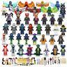 Lego 40PCS Ninjago Figures Lloyd KAI JAY COLE ZANE Snake Minifigures Garmadon