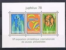 Luxemburg postfris 1978 MNH block 12 - Juphilux (S0102)