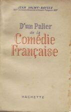 D'un Palier de la Comédie Française - Jean Valmy Baysse - 1950
