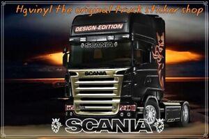Scania Truck Griffin windscreen window glass sticker decal inside or outside fit
