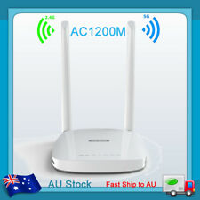 1200mbps 5g Dual Band Wireless Range Extender WiFi Repeater Router 2 Antenna AU