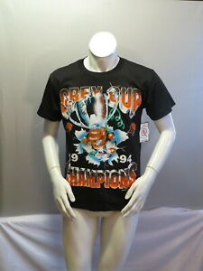 BC Lions Shirt (VTG) - 1994 Grey Cup Champions - Youth Large (NWT)