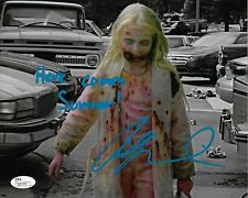 Addy Miller 8x10 Autographed Photo JSA Signed The Walking Dead Teddy Bear Girl 5