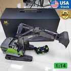USA 1:14 Scale 22CH Huina 1593 RC Excavator Construction Vehicle Toys For Boys