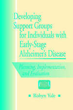 Developing Support Groups for Individuals with Early-Stage Alzheimer's-ExLibrary