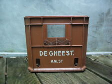 DE GHEEST AALST 1974 beer crate for 12 bottles Closed 1985 industrial heritage