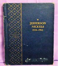 Whitman Complete Set Silver Coins JEFFERSON NICKELS 1938 - 1964 in Album!