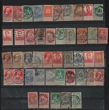 BELGIUM LOT X 45 AIRMAIL WITH TAFF PERSONALITIES GOOD POSTMARKS