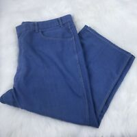 Towncraft Men's Blue Denim LIGHT Blue Jeans Pants Size 46 x 25 GUC