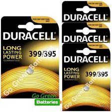 4x Duracell 399/395 1.5V Silver Oxide watch battery SR57 D395/399 V395 V399