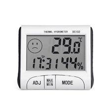 LCD Mini Digital Thermometer Humidity Meter Room Temperature Indoor Hygrometer