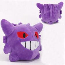 New Pokemon Gengar 6in Soft Purple Plush Stuffed Doll Toy Kids Xmas Gifts