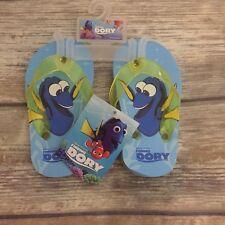 Finding Dory Disney Pixar Toddler / Kids Flip Flops  Size 9/10