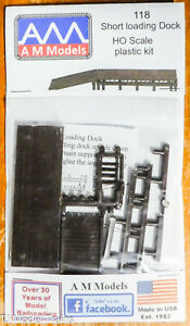 AM Models HO #118 (Short Loading Dock) Plastic kits (1:87th Scale)