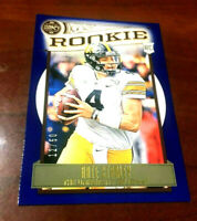 "2020 Legacy Rookie RC #180 Nate Stanley BLUE 12/50 Iowa Hawkeyes / Vikings ""WOW"""