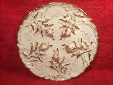 Antique Haviland Limoges Seaweed Oyster Plate c1893, op376  ANTIQUE GIFT QUALITY