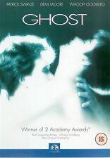 Ghost Tony Goldwyn, Patrick Swayze, Demi Moore, Whoopi Goldberg NEW UK R2 DVD