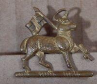 WW2 Queens west Surrey regiment collar Badge genuine
