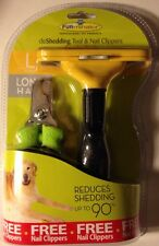 FURMINATOR deSHEDDING TOOL & CLIPPERS Long Hair L - NEW!! Free Priority  In U.S.