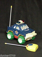 Radio Shack Battery Operated Remote Controlled Police Car - Lights & Sound Wks
