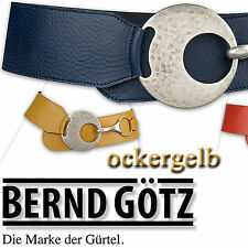 c6ba2faa9f7dad Bernd Götz Gürtel Ledergürtel schwarz Nappa-leder 70126 TW 90