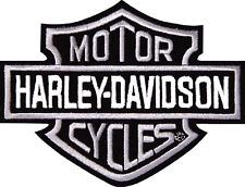 HARLEY DAVIDSON SILVER BARSHIELD  PATCH (XXL)