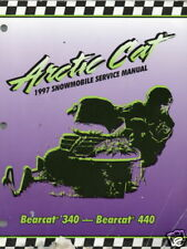 1997 Arctic Cat Bearcat 340 & 440 Service Manual
