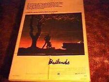 BADLANDS  MOVIE POSTER '74 CULT CLASSIC