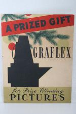Graflex camera Advertising Store Counter Dealer display Sign