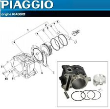 Pack Cylindre Piston Segments Axe d'Origine Aprilia Atlantic Scarabeo 250