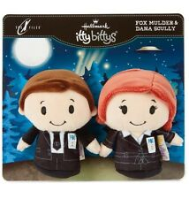 Hallmark Itty Bittys X-Files MULDER & SCULLY 2 Pack Bitty