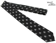 """Penguin Black Signature Tie 2 5/8"""" Wide Silk Tie"""
