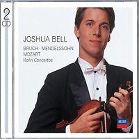 Joshua Bell - Bruch, Mendelssohn, Mozart Violin Concertos [CD]
