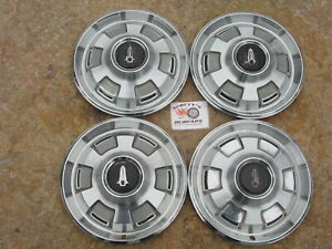 "1967, 1968, 1969 PLYMOUTH BARRACUDA, VALIANT 14"" WHEEL COVERS, HUBCAPS, SET OF 4"