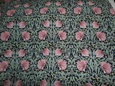1.65 m x 1.2 M vestige longueur de William Morris Pimpernel georgette tissu,