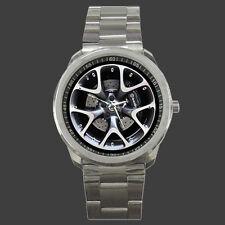 2013 OPEL ASTRA OPC RIMS WHEEL BRAKE Style Men's Sport Metal Watch Free Shipping
