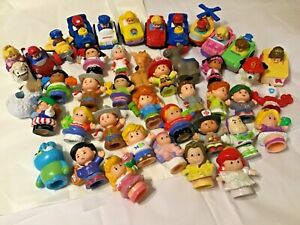 Fisher price Little people mixed vinyl figures, lot of 42